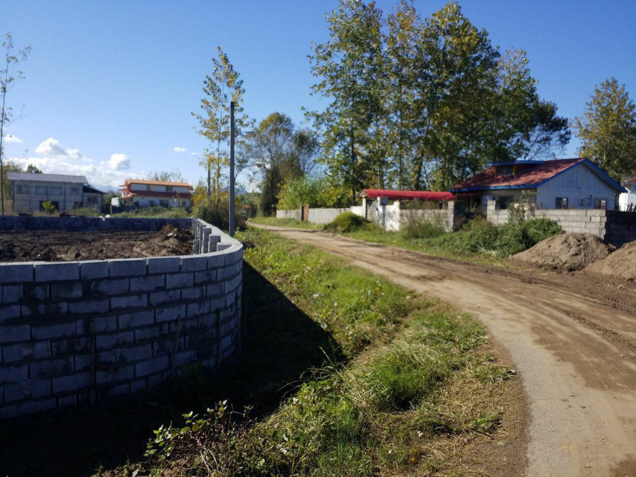 فروش زمین باغ مسطح جاده چمخاله